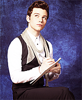 9 favourite pics: Chris Colfer in white asked by anonymous