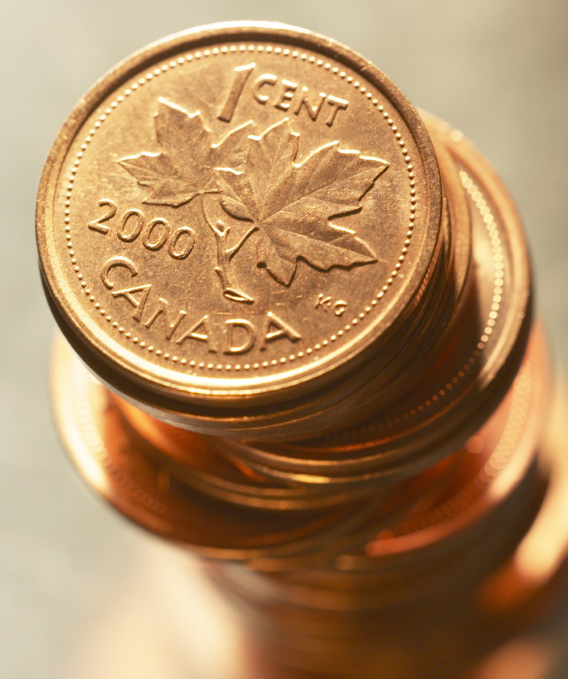 "Canadian penny fell victim to changing timesThe lowly penny, once an important unit of currency but long since reduced to providing little more than irritating pocket ballast and use in nursery-school rhymes, was declared officially redundant in the 2012 budget.Aside from giving opposition members ample opportunity to criticize the Tory budget as ""penny-wise, dollar-foolish,"" the decision to eliminate the coins meant that Finance Minister Jim Flaherty could make a bedroom reference in his budget speech: ""Pennies take up too much space on our dressers at home."" (Photo: Getty Images / Thinkstock)"