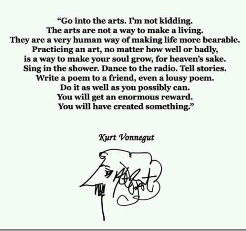 sleeptapes:  Kurt Vonnegut will always be one of my favourites