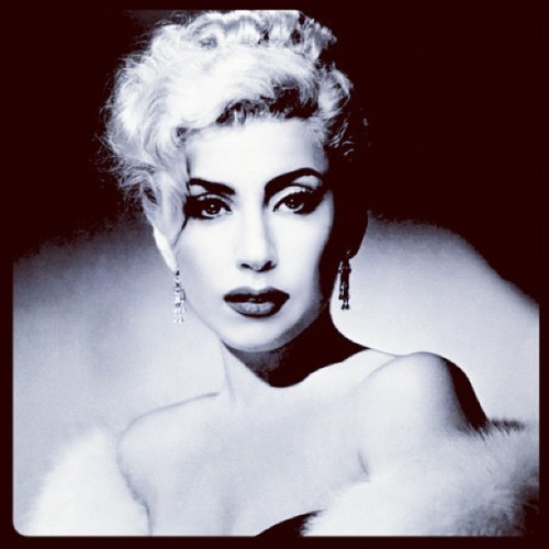 littlemblogger:  #ladygaga #BeautyQueen  (Taken with instagram)
