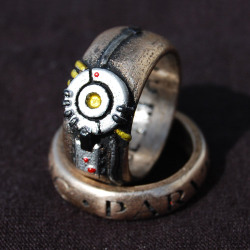 GLaDOS Potato POTaTOS Ring 1