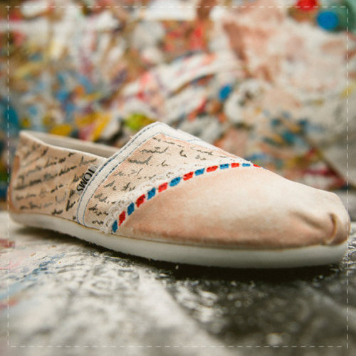 t-o-m-s:  buy these toms here: http://www.etsy.com/listing/88698466/love-letter-air-mail-toms-shoes?ref=&sref=