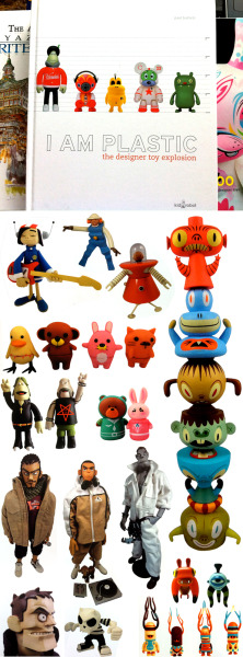 """I am Plastic: the Designer Toy Explosion"" 367 pages from KidRobot"