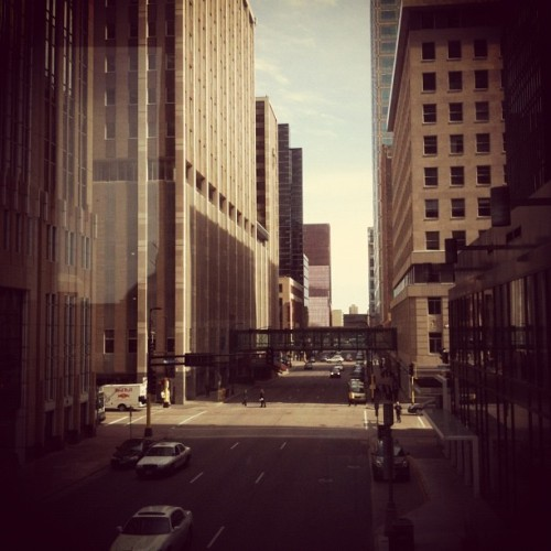 Downtown Minneapolis. (Taken with instagram)