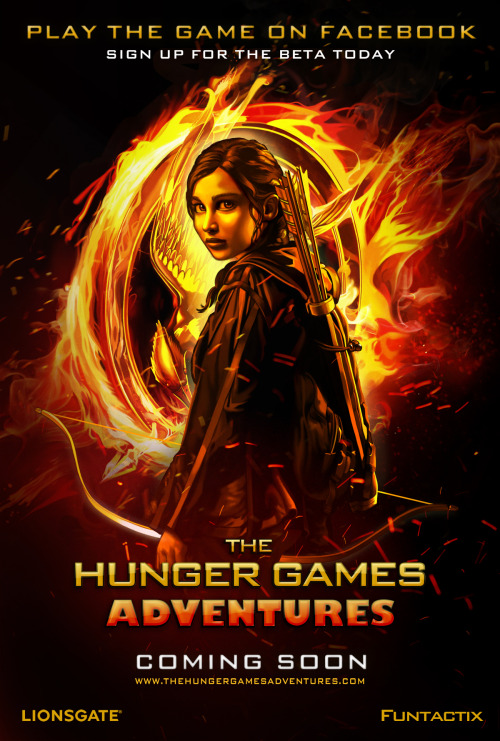 The Hunger Games RPG coming to Facebook  A social network game called The Hunger Games Adventures is about to launch on Facebook.
