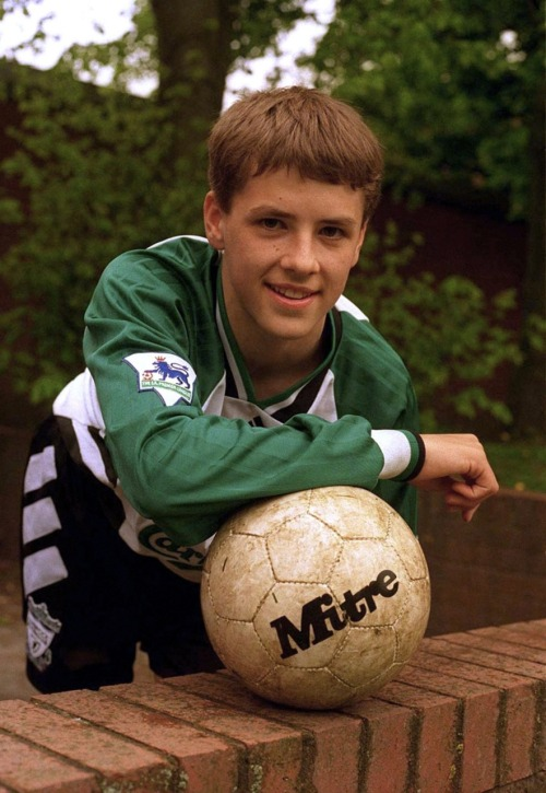 A young Michael Owen