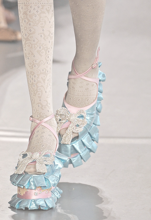 wearenightjewels:  Meadham & Kirchoff would have to be my favourite designers!
