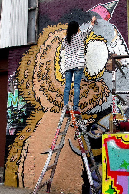 polycinco:  Sheryo @ 5Pointz, LIC by LoisInWonderland on Flickr.
