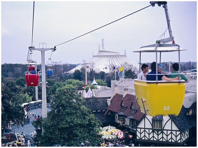 Disney's Skyway on Ektachrome by hz536n/George Thomas on Flickr.