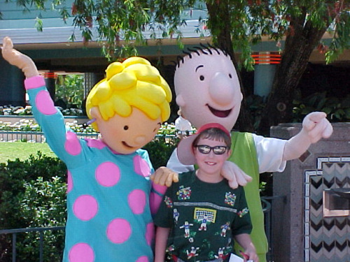 "vintagedisneyparks:  Doug & Patti by Charles ""The Disney Genius"" Brown on Flickr.  Wait…… NO! I never got to meet them :("