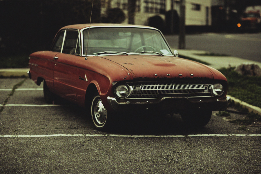 rogwalker:  Lonely Boy.  Love old car pictures with some character:)