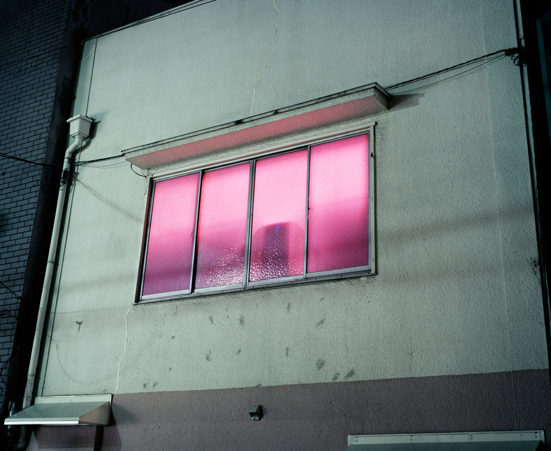 Pink Window In The Red Light District, Thomas Prior, Tokyo, 2009