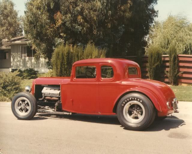 Circa 1960's Hot Roddin - 1932 Ford Model B Five Window Coupe