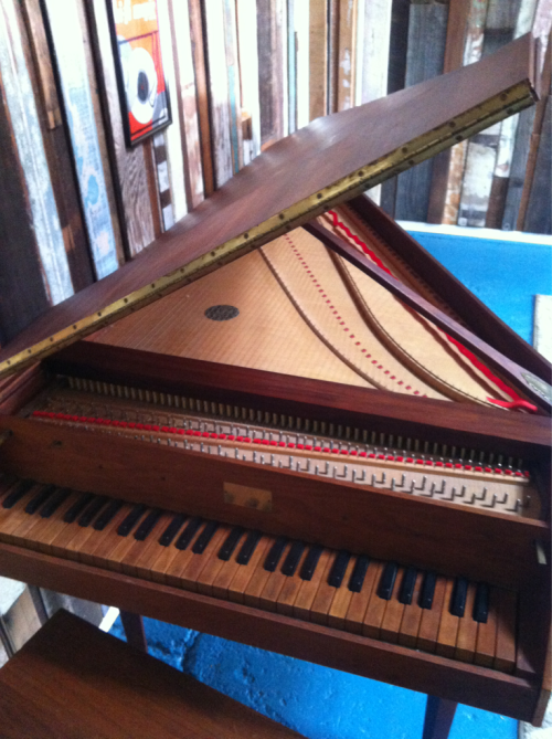 Thanks to JJ, we have a 1969 Eller Harpsichord in A!
