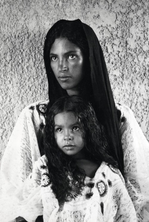 Mother and Daughter, Maghreb, 1930s by Jean Besancenot