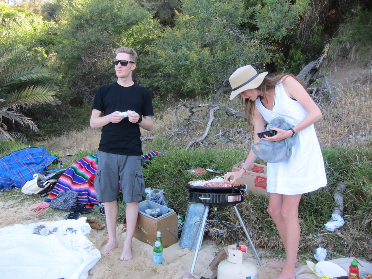 BBQ at the river