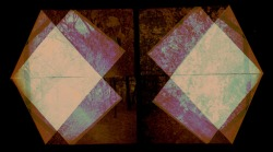 halflighthoney:  experiments manipulating negatives process : folding