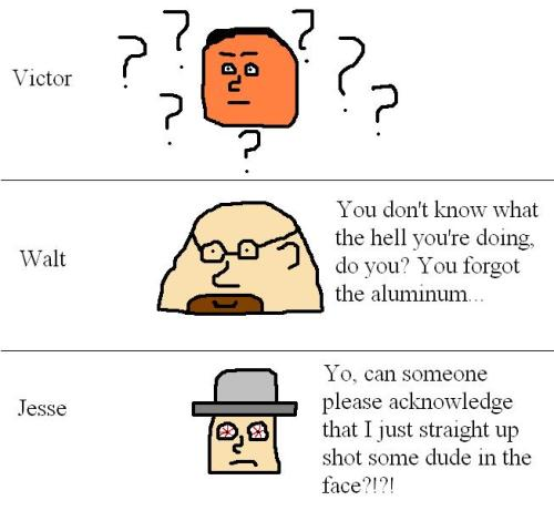 breaking-bad-comics:  A tense situation.