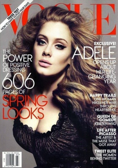 Gorgeous, but not Adele