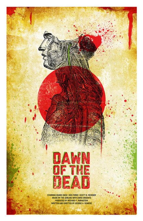 minimalmovieposters:  Dawn of the Dead by Jason K