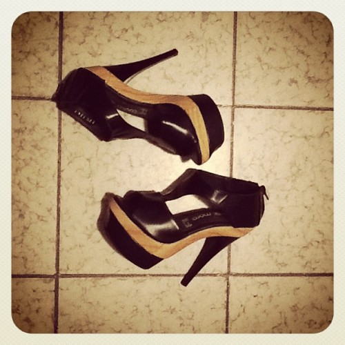 Breakin' in the new babies tonight… (Taken with instagram)