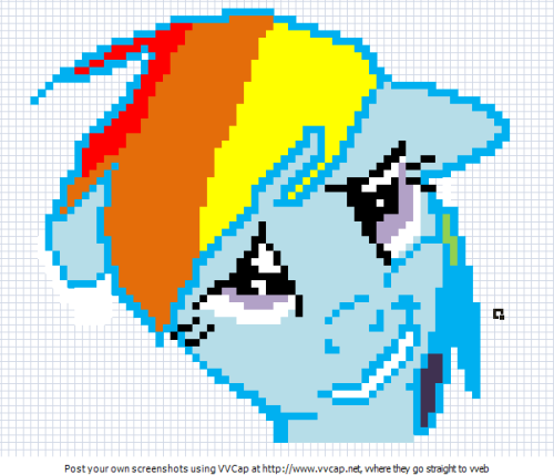 "ok, kinda starting with ""own"" images i made this pixel preview to make in minecraft hope you enjoy"