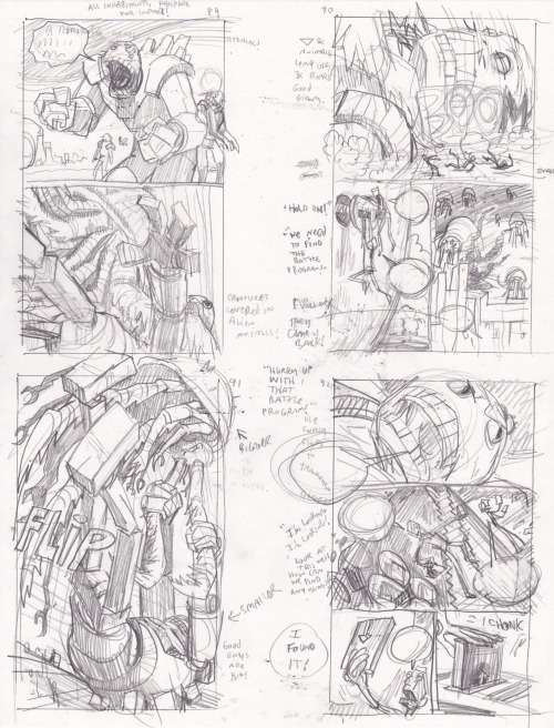 tennapel:  Bad Island Thumbnails by one of my favorite creators. Doug TenNapel. This was a great book that I can't wait to share with my son when he is older.