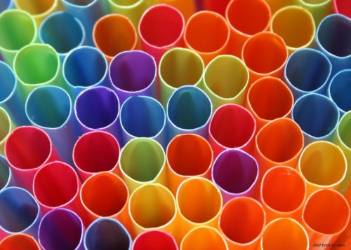 quantumaniac:  The Physics of Straws Straws, how complicated can they be? Most people have a few misconceptions about how straws work, but just like everything else - the answer lies with physics.  Upon placing the straw in a regular cup of water, the pressures inside and outside of the straw are equal! You can see this by noticing that the level of the water and in the glass are the same - both reach the same height of the straw.   When you suck on the straw, you are effectively decreasing the pressure in your mouth - and this lowers the pressure at the top of the straw. As soon as this happens, the force of the atmosphere pushing on the water in the glass is higher than the force of the gases inside the straw. Since pressure acts from high to low, the atmosphere forces the liquid water up the straw. In essence, you are not sucking the water into your mouth, but the atmosphere is pushing it!  Explain this to your friends the next time you're out to eat - then write down a few bogus equations and they'll think you're a genius.