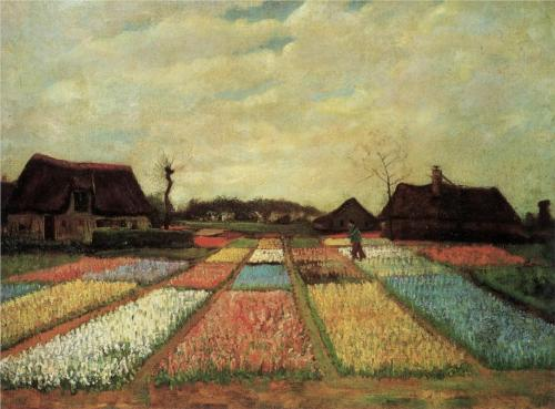 1883 Vincent van Gogh (Dutch, 1853-90) ~ Bulb Fields