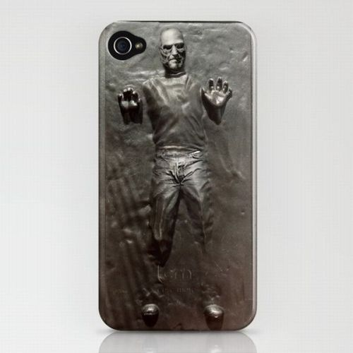 'Steve Jobs In Carbonite' iPhone case!!!