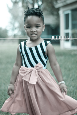 Natural with Pearls…well isn't she the cutest!!