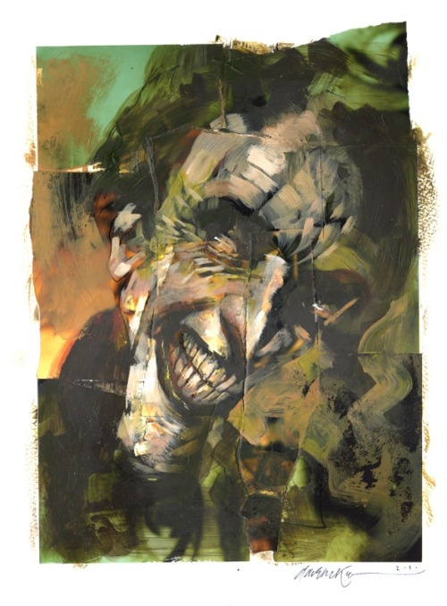 awyeahcomics:  The Joker by Dave McKean