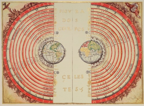 quantumaniac:  The Geocentric Model Also known as the Ptolemaic system, the geocentric model is the former theory that the Earth is the center of the universe. Despite what some may believe, the universe does not revolve around human society and our planet - but this was the prevalent theory in Ancient Greece, proposed by great thinkers like Aristotle and Ptolemy.  When the ancients would look up at the night sky - the stars, sun and planets appear to revolve around the Earth each day! This would make it seem as if the Earth was in fact the center. To humans on the planet, it also seems as if the Earth does not move at all, but rather is static while all else revolves around it. Before the discovery that the Earth rotates, this seemed like a sensible description!
