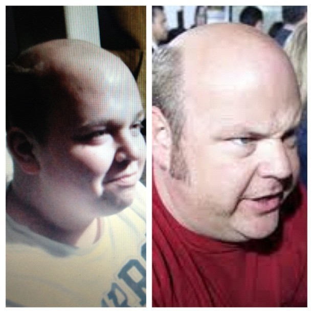 Ryan lynch = Kyle gass (Taken with instagram)