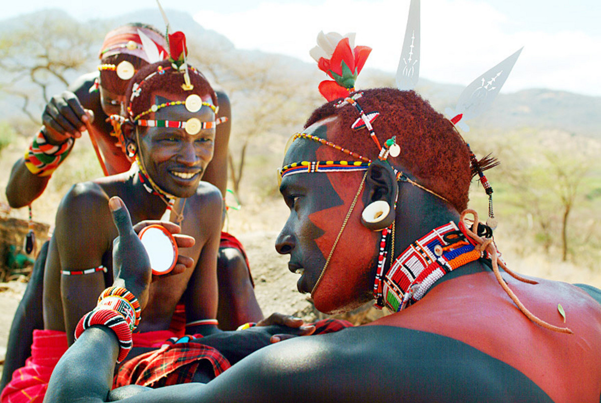 dynamicafrica:  Samburu people. Moran (warriors) specifically.