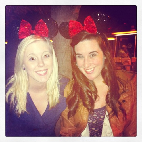 The new Minnie ears are so so so cute!! (: