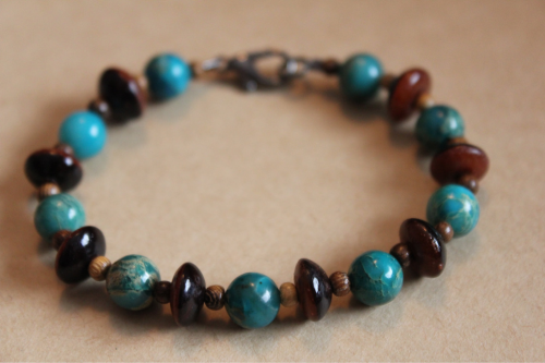 One of a Kind Handmade Bracelet!  Click on picture to be taken to shop