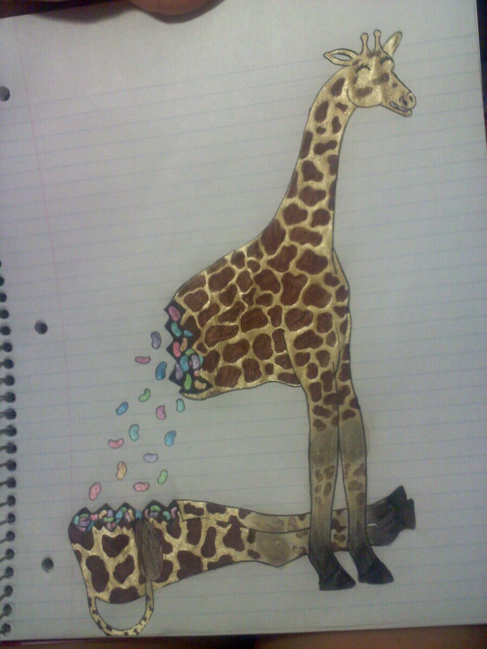 Magic Giraffe - Jordan