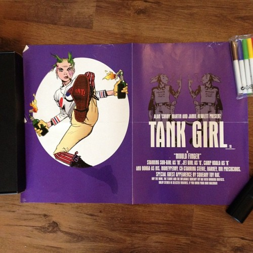 Tank Girl. #bensposters  (Taken with instagram)