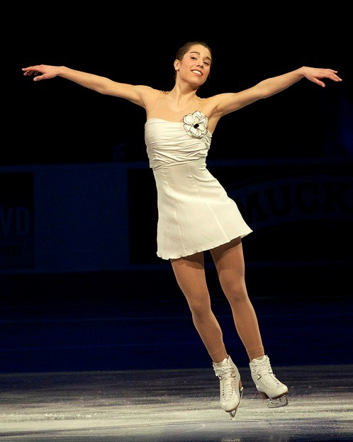 Alissa Czisny skating to Moon River at the 2012 US Nationals gala. Photo by Megan Caplan.