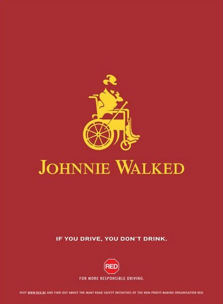 Seriously. Don't drive drunk. #advertising