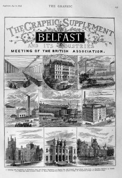 August 1871, The Graphic Supplement on Belfast and its Industries.  Great imagery of the city in its Victorian swagger.