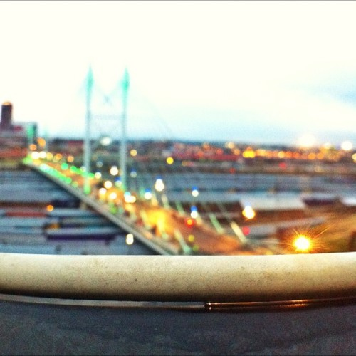 #latergram (Taken with Instagram at Nelson Mandela Bridge)