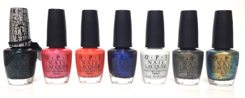 OPI Spiderman Collection - May 2012