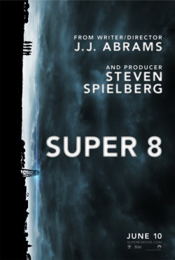 'Super 8′ film poster by BLT & Associates. Set in 1979 Ohio, a group of six young children use a Super 8 camera to make their own zombie movie. One night, while filming near a remote stretch of railroad tracks, the children witness a truck collide with an oncoming train leading to a catastrophic derailment. Amidst the fire and destruction, something inhuman emerges. See more of BLT & Associates here: bltomato.comSee the Super 8 trailer and film details here: super8-movie.com