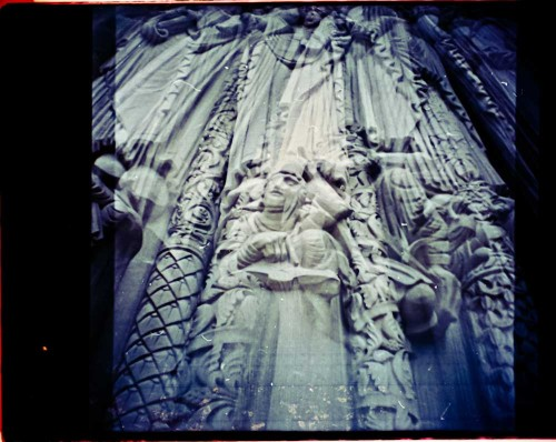 statuesque Riverside Cathedral, NYC double exposure - Diana Mini My Site | Twitter | Google+ | Etsy | Facebook | Blurb |