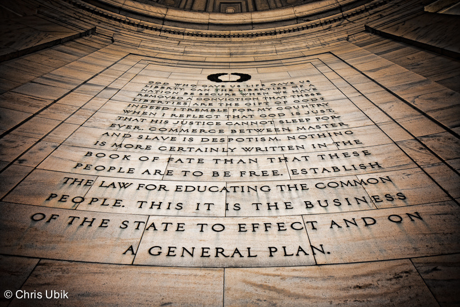 Jefferson Memorial, Washington, DC Taken two years ago today.