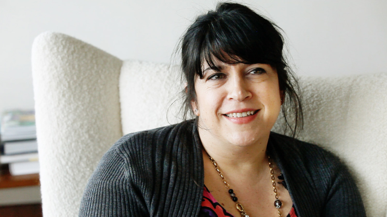 E.L. James, author of Fifty Shades of Grey, from a video by Gillian Laub. At a book party for E.L. James, who wrote 'Fifty Shades of Grey,' the author was literally overwhelmed to tears of joy (and alarm) by a pack of hundreds of middle-aged women acting like adolescent girls unleashed on Justin Bieber. Watch here.