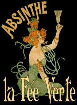 "Absinthe is commonly referred to in historical literature as ""la fée verte"" (the green fairy). It originated in the canton of Neuchâtel in Switzerland in the late 18th century and arose to great popularity as an alcoholic drink in late 19th and early 20th-century France, particularly among Parisian artists and writers. Owing in part to its association with bohemian culture, the consumption of absinthe was opposed by social conservatives and prohibitionists. Ernest Hemingway, Charles Baudelaire,Paul Verlaine, Arthur Rimbaud, Henri de Toulouse-Lautrec, Amedeo Modigliani, Vincent van Gogh, Oscar Wilde, Aleister Crowley and Alfred Jarry were all known absinthe drinkers."