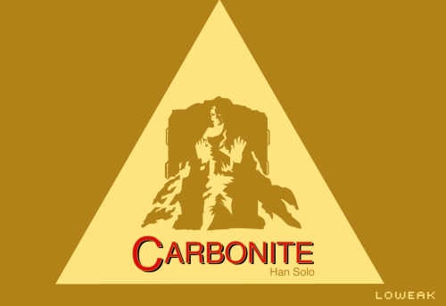 Today, Star Wars Carbonite Han Solo logo ! (Toblerone (c) Style)